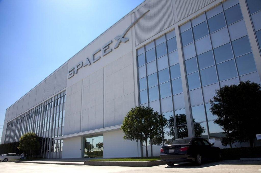 SpaceX headquarters in Hawthorne, California. Photo: Pixabay.