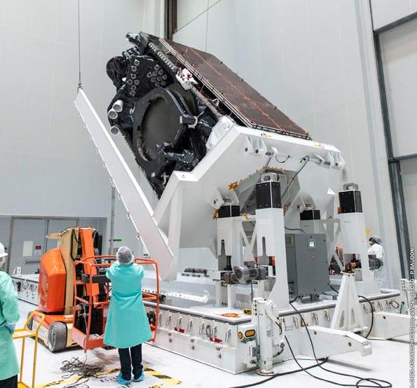 The Intelsat 37e satellite. Photo: Intelsat.