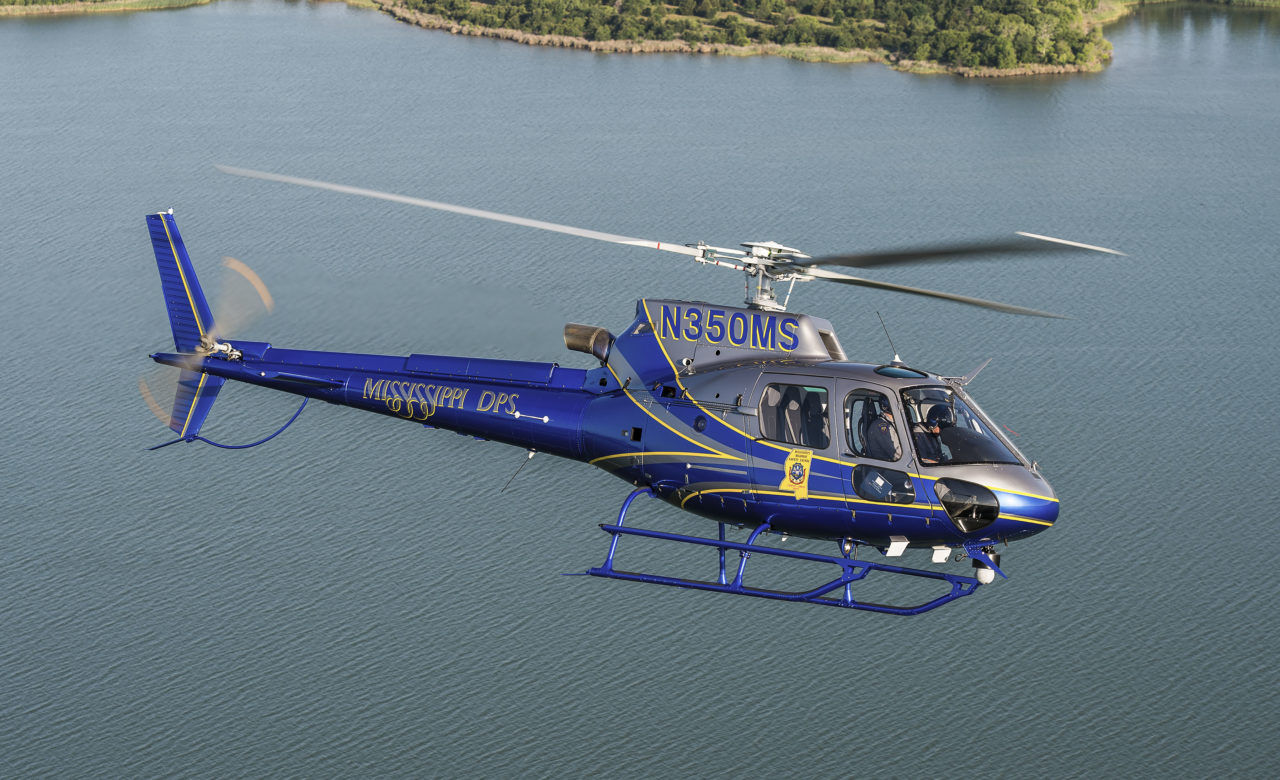 Airbus Helicopters delivers new Mississippi-built AS350 B3e helicopter to Mississippi Department of Public Safety. Photo: Airbus Helicopters.