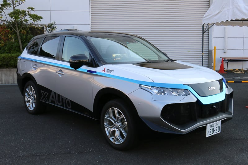 Here, Mitsubishi Electric to Offer Location Services for Autonomous Cars -  Via Satellite -