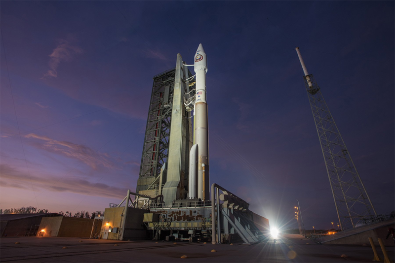 Atlas 5 on the launchpad ahead of the NROL 52 mission on Oct. 7. Photo: ULA.