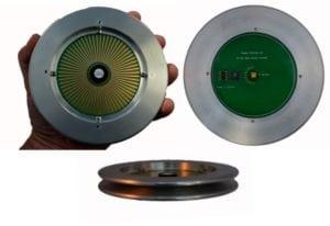 The mmWave Plasma Silicon Antenna. Photo: Plasma Antennas.