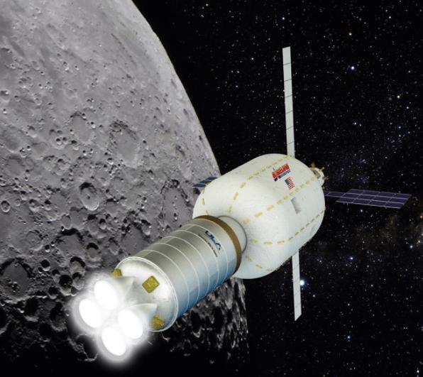 Bigelow Aerospace's B330 standalone space station. Photo: Bigelow Aerospace.