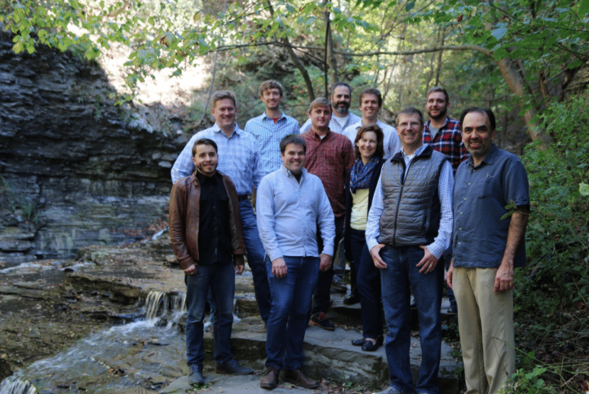 Ursa Space Systems' executive team and staff. Photo: Ursa Space Systems/Twitter.