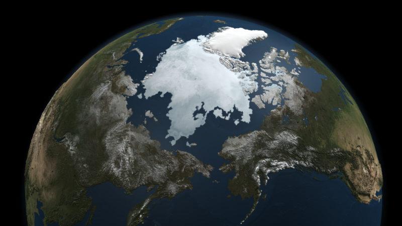 This image was compiled using data gathered by NASA's Aqua satellite on Sept. 3, 2010. Credit: NASA Goddard's Scientific Visualization Studio.