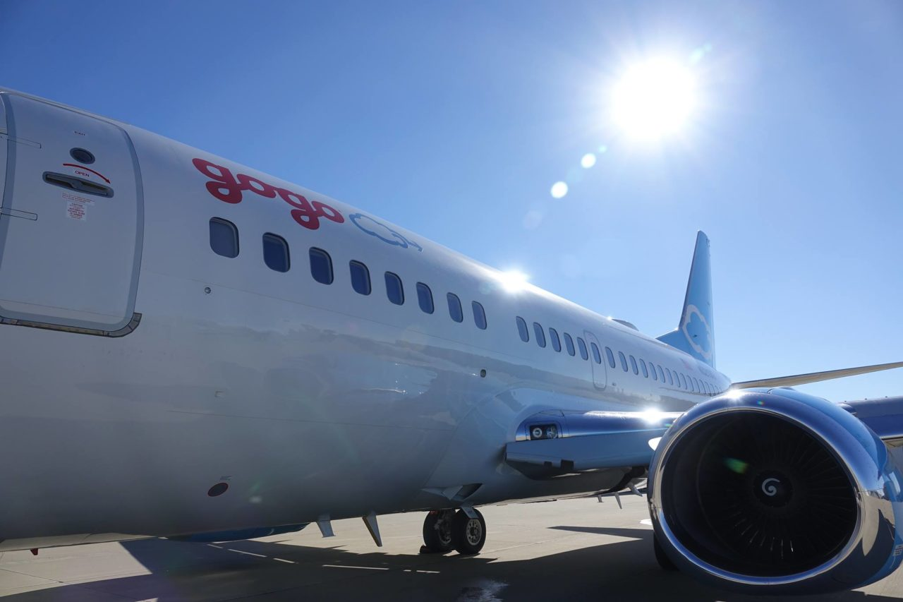 Gogo's test plane, the Jimmy Ray. Photo: Gogo.