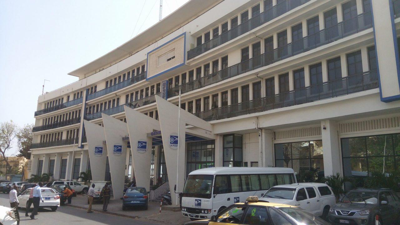 A La Poste Senegal office building. Photo: La Poste Senegal.