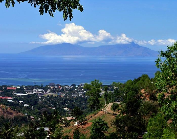 View of Dili and Atauro Island, Timor-Leste