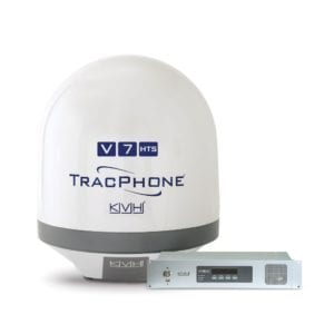 The KVH TracPhone V7-HTS antenna system. Photo: KVH Industries.