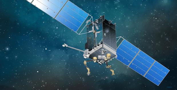 DARPA's Robotic Servicing of Geosynchronous Satellites (RSGS) vehicle. Photo: DARPA.