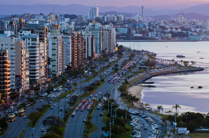Florianopolis, the capital and second largest city of the state of Santa Catarina. Photo: UNESCO.