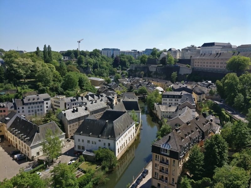 Aerial view of the Ardennes in Luxembourg. Photo: Pixabay.