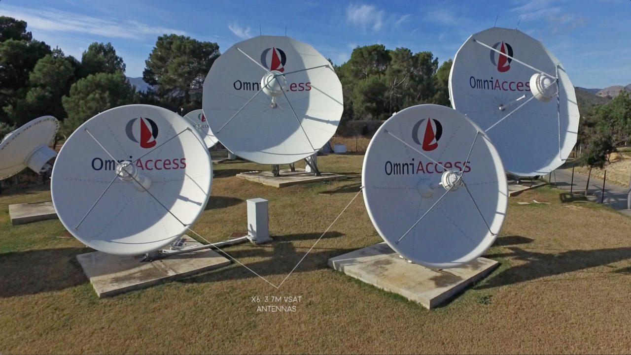 OmniAccess teleport in Palma de Mallorca, Spain. Photo: OmniAccess.