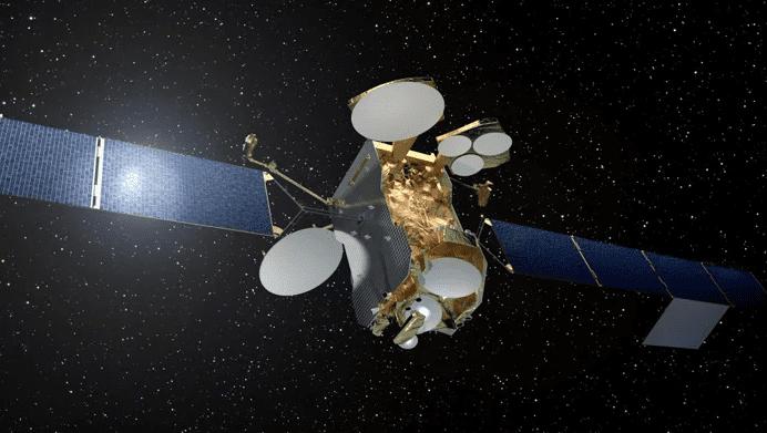 Rendition of the all-electric Eutelsat 172B satellite. Photo: Eutelsat.