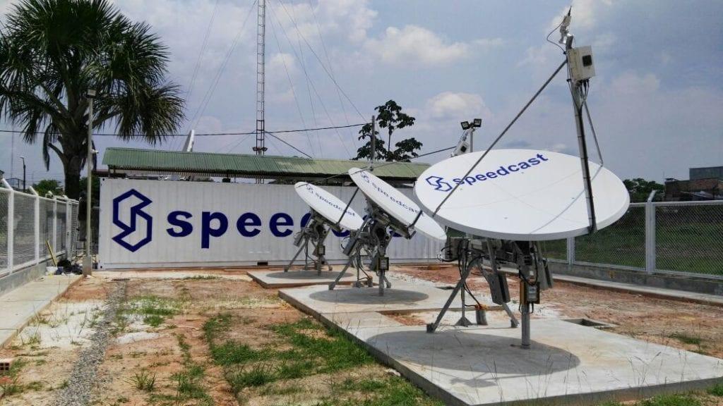 Speedcast terminals. Photo: Speedcast