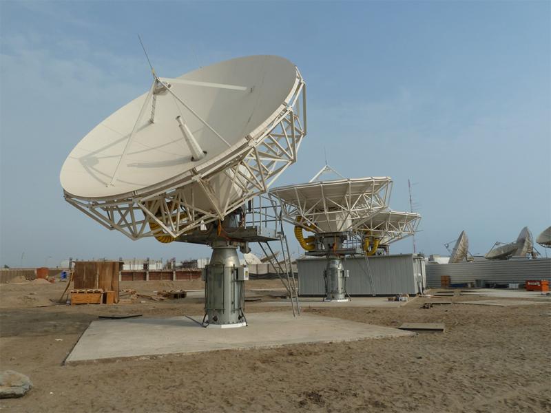 O3b's Peru gateway. Photo: SES.