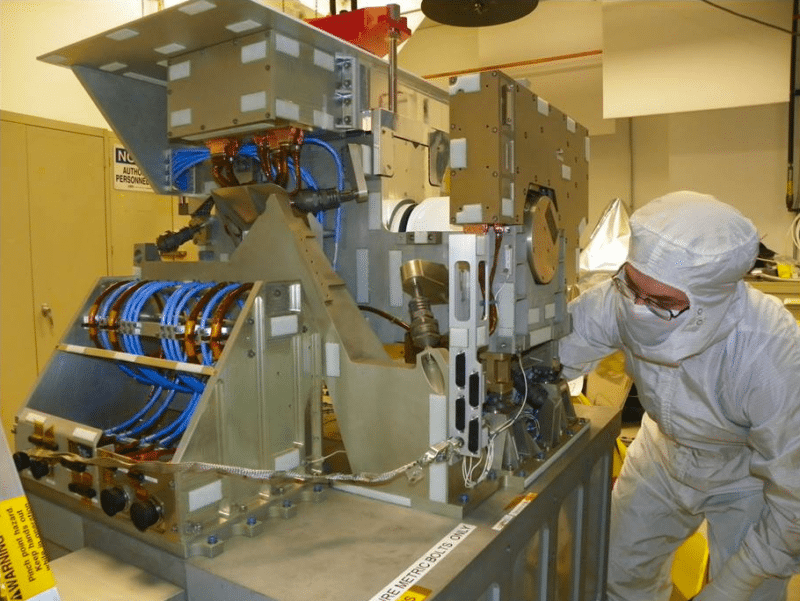 Harris Corporation's Cross-track Infrared Sounder will support extended weather forecasts aboard the JPSS 1 satellite. Photo: Harris.