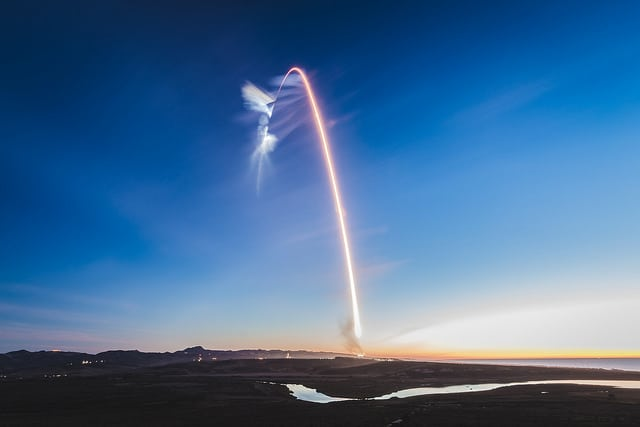 Time lapse of SpaceX's Falcon 9 launching the fourth set of Iridium Next satellites. Photo: SpaceX.