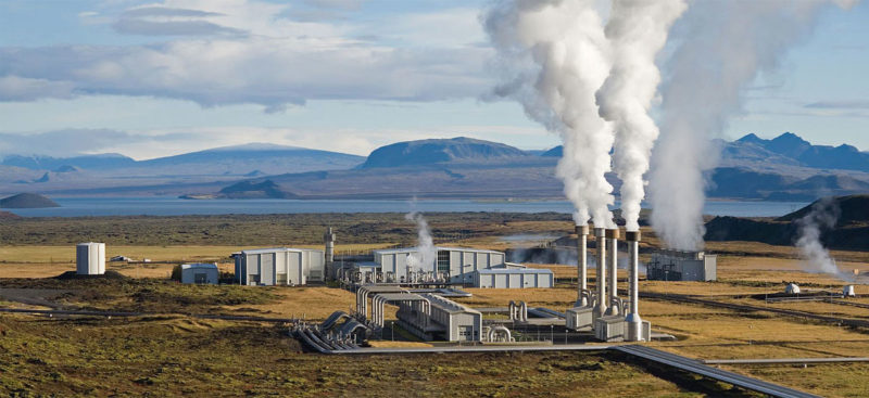 The Nesjavellir Geothermal Power Station in Iceland. Photo: Wikimedia/Gretar Ivarsson.