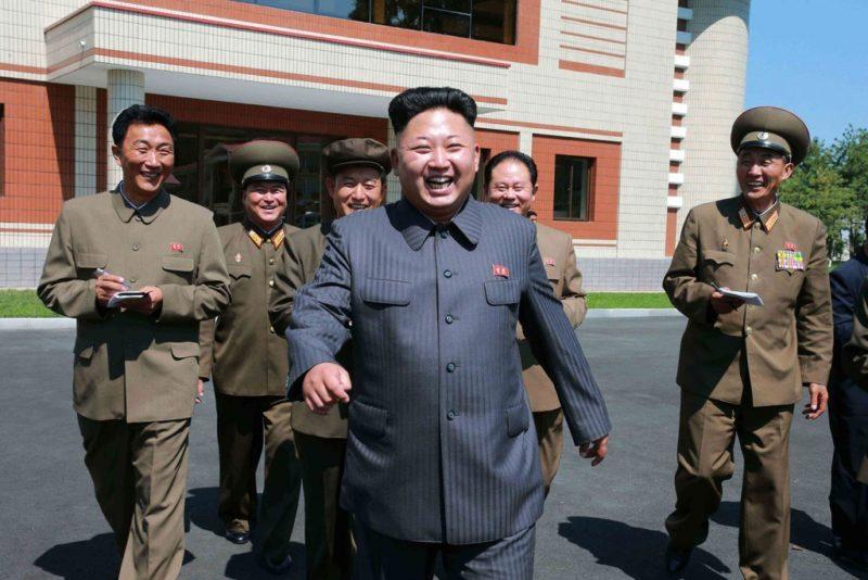 North Korean leader Kim Jong Un. Photo: KCNA.