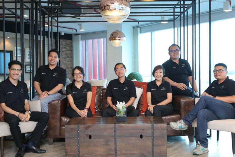 mu Space's executive team. Photo: Mu Space.