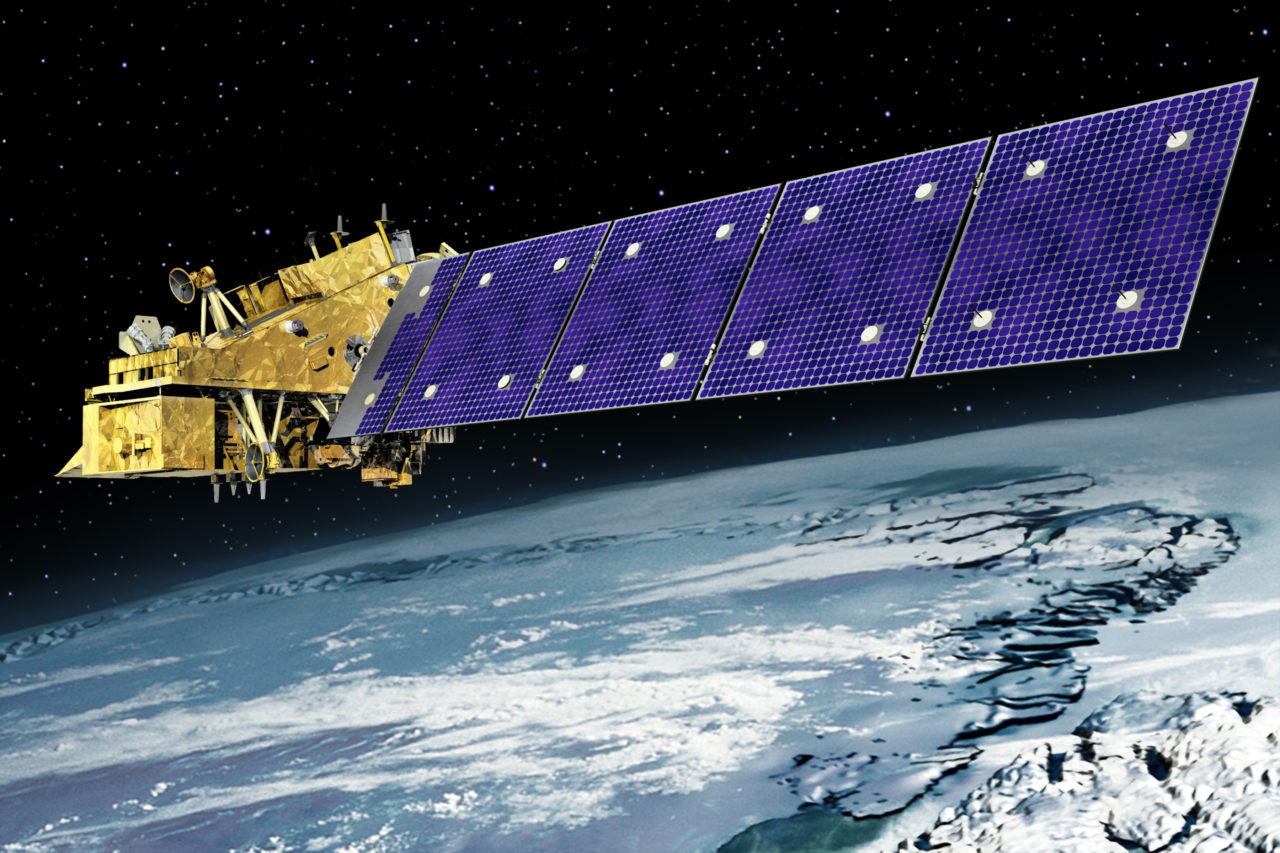 Rendition of the JPSS 2 satellite. Photo: Orbital ATK.