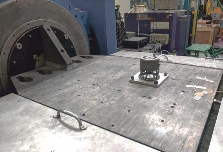 ACE undergoes vibration testing at Quanta Laboratories. Photo: Apollo Fusion.