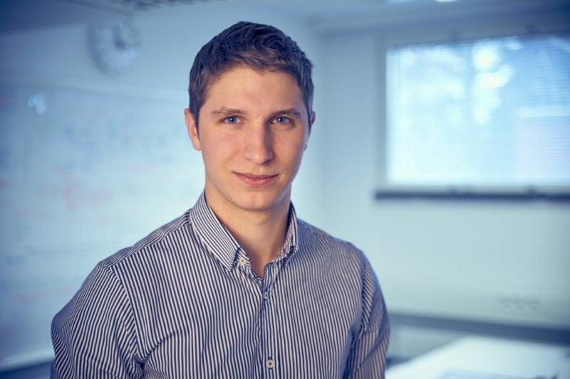 afal Modrzewski, Iceye CEO.