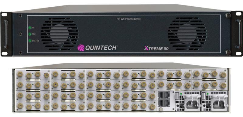 Quintech's Xtreme 80 matrix switch. Photo: Quintech Electronics & Communications.
