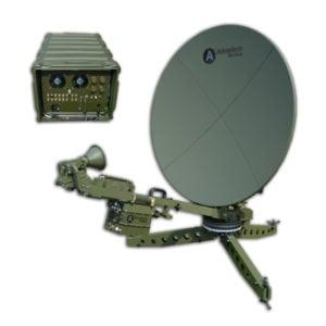 Advantech Wireless' New Engage Class 1.2m Flyaway VSAT Terminal. Photo: Advantech Wireless.