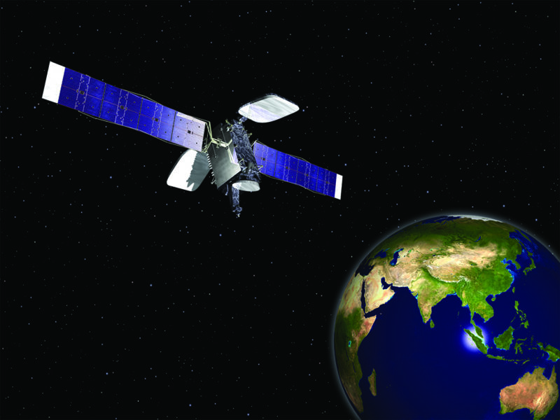 Example of a GeoStar 2 satellite. Photo: Orbital ATK.