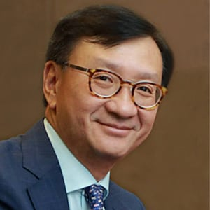 Stephen Ho, president and chair of the board of governors, PTC.