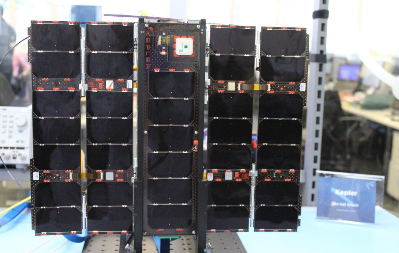 Kepler Communications' KIPP satellite, built by Clyde Space. Photo: Clyde Space.