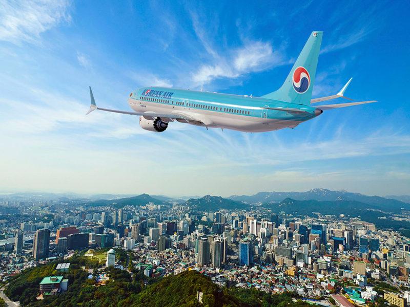Korean Air 737 MAX. Photo: Boeing