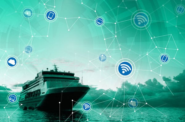Maritime Network Connected Transportation Via Satellite