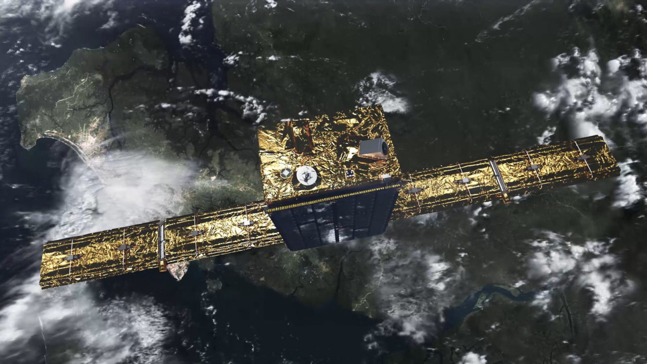 Iceye's first proof-of-concept satellite, Iceye X1. Photo: Iceye.