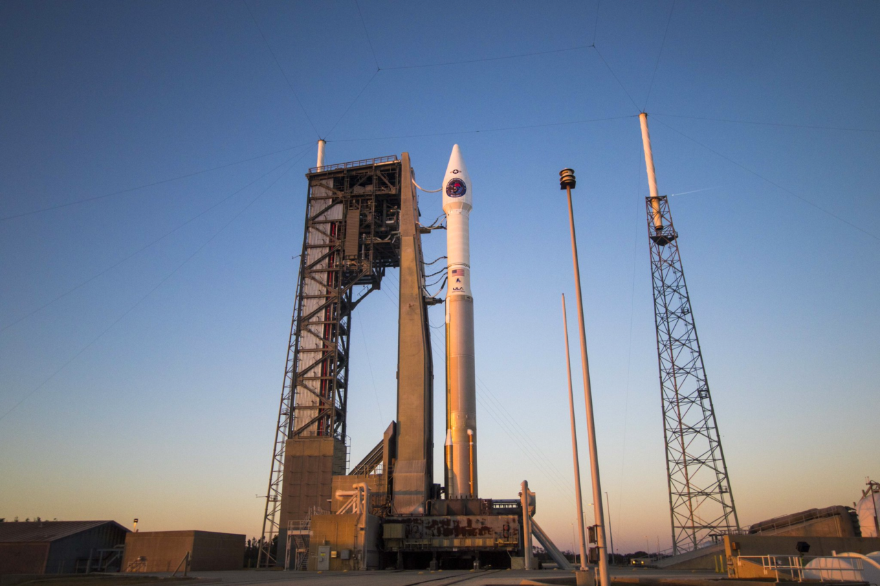ULA's Delta 5 on the launchpad just before the fourth SBIRS launch on Jan. 19. Photo: ULA.