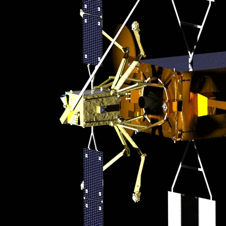 Effective Space's Space Drone satellite servicing spacecraft. Photo: Effective Space.