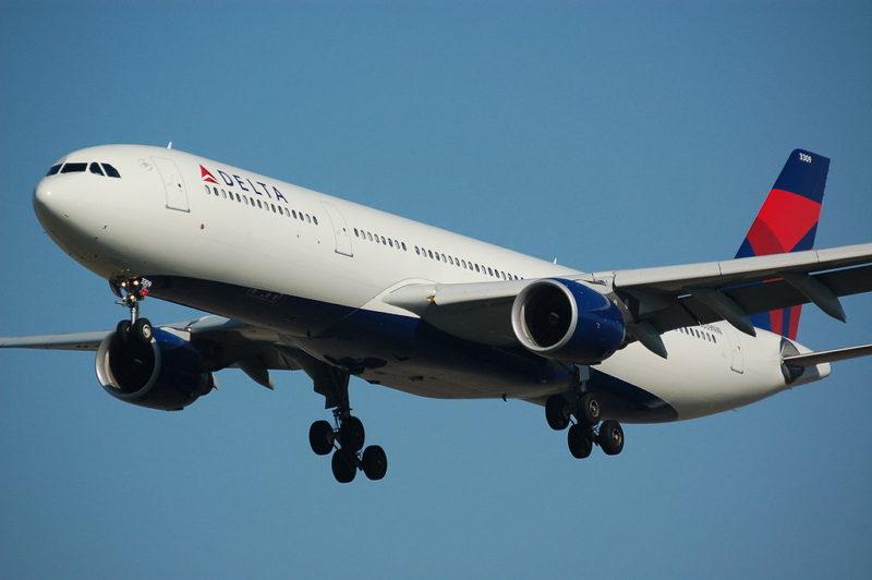 A Delta Airlines Airbus A330-323E. Photo: Wikimedia.
