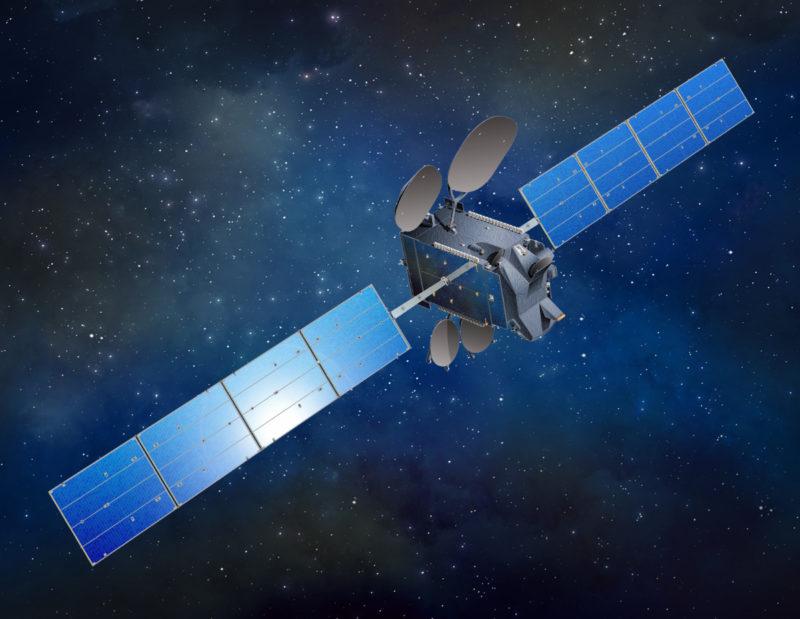 Hispasat's Amazonas 5 satellite. Photo: Hispasat.
