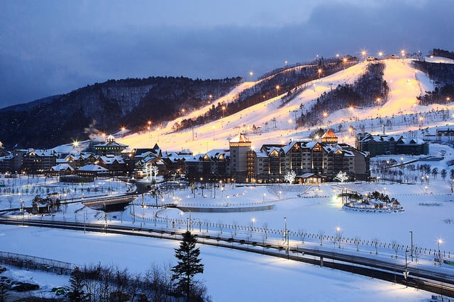 PyeongChang is hosting the 2018 Winter Olympics between Feb. 9 and Feb. 25. Photo: Flickr/Republic of Korea.
