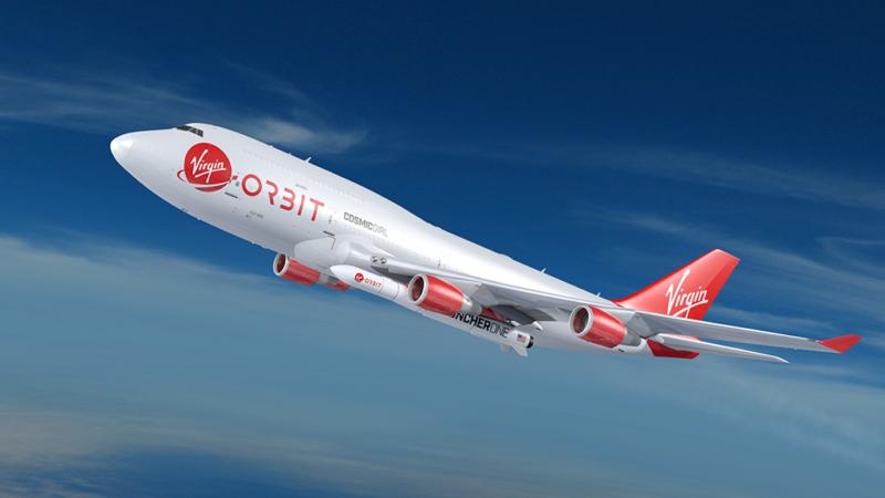 Virgin Orbit's dedicated smallsat launcher, Launcher One. Photo: Virgin Orbit.