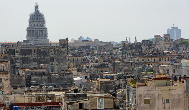 Skyline over Havana, Cuba. Photo: Wikimedia.