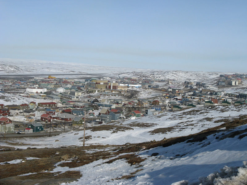 Iqaluit, the capital and only city in Canada's Nunavut region. Photo: Northwestel.