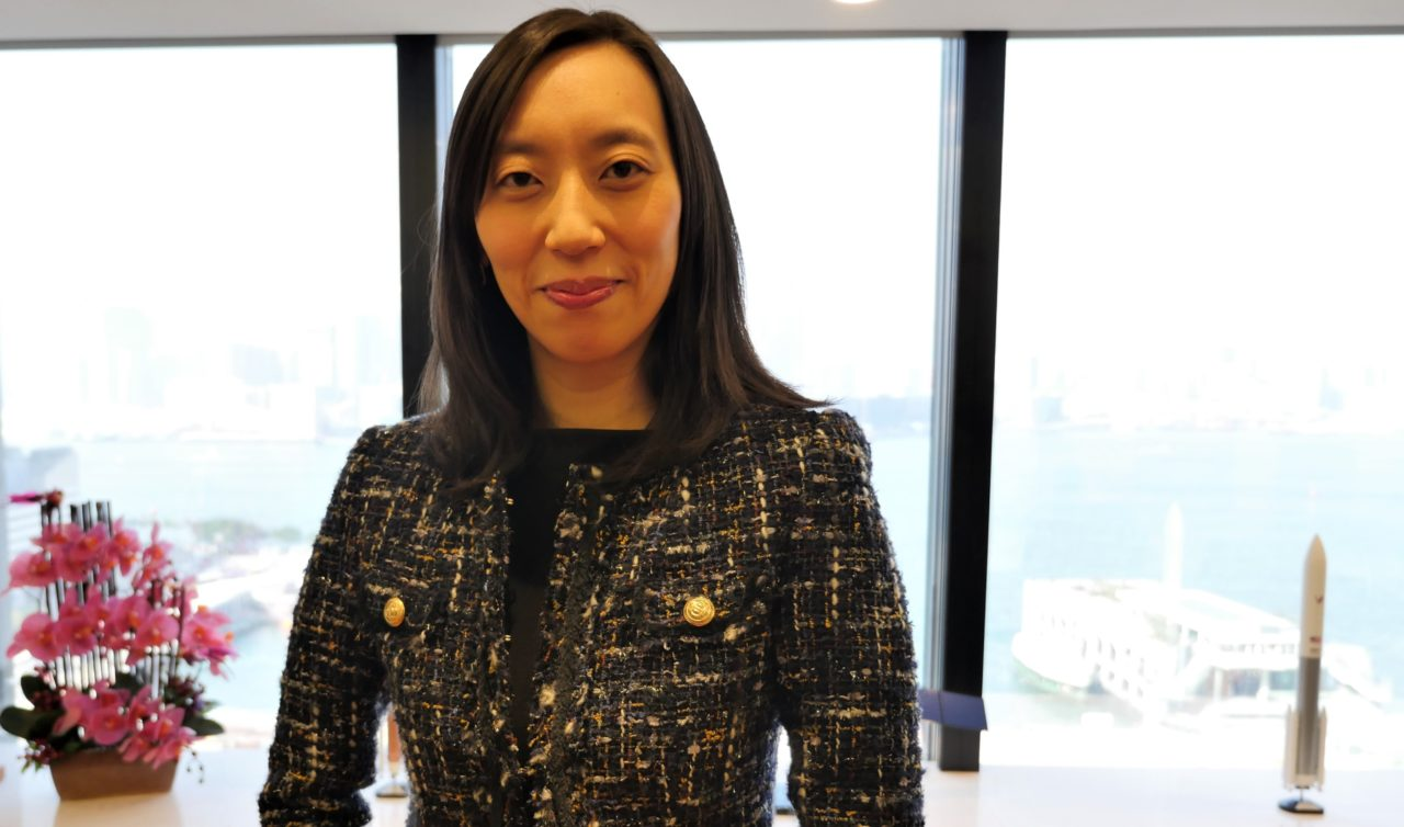 Laura Kwok, AsiaSat's vice president of business development and strategy. Photo: AsiaSat.