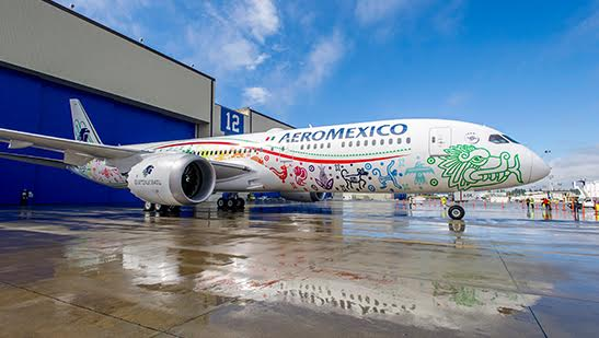 Aeromexico was the first airline to commit to using Gogo's 2Ku. Photo: Aeromexico.