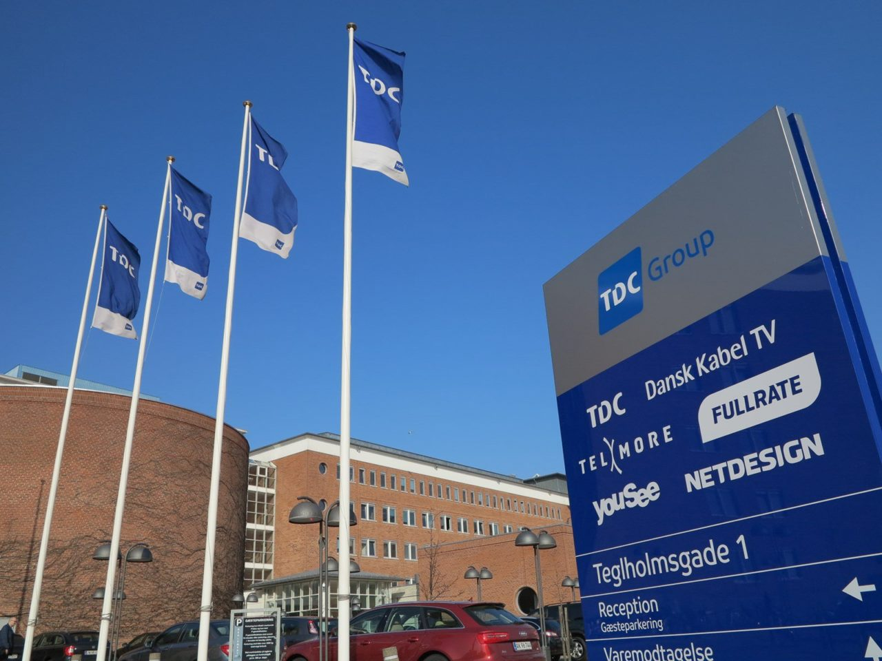 TDC Group headquarters in Cophenhagen, Denmark. Photo: TDC Group.