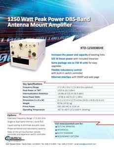 1250W-DBS-Amplifier