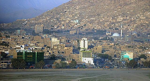 Kabul, Afghanistan. Photo: Wikimedia.