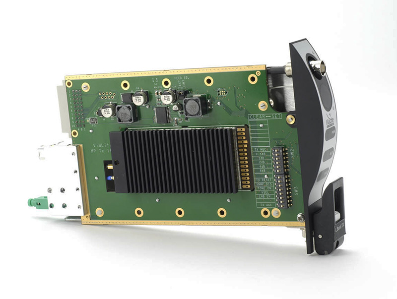 ViaLite's L-band HTS-HWDR RF over fiber link. Photo: ViaLite.